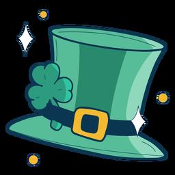Chapéu irlandês plano