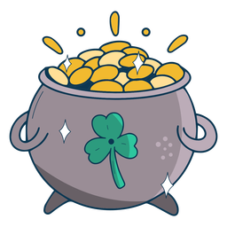 Pot of gold flat