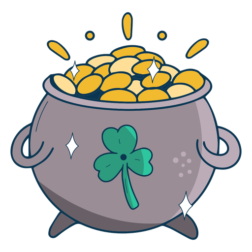 Pot of gold flat