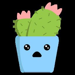 Surprised pot flat