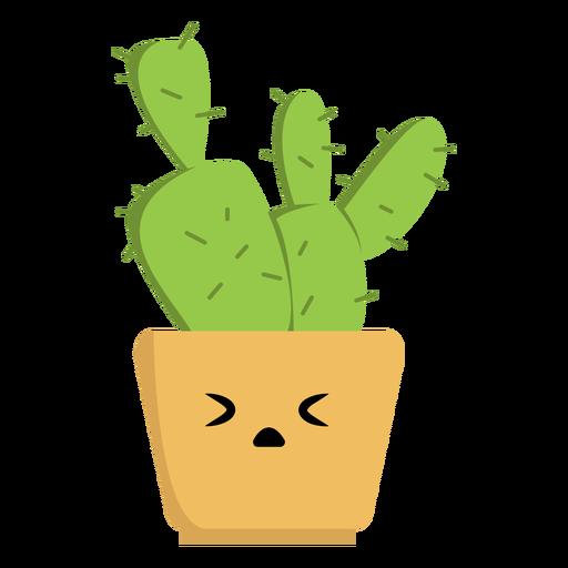 Cactus triste plano