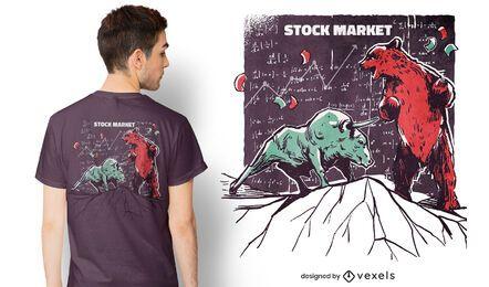 Tiere Börse T-Shirt Design