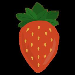 Big strawberry flat