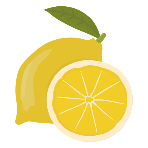 Lemon slice flat