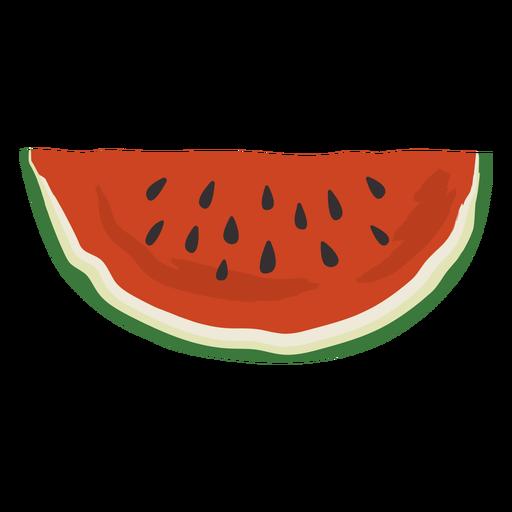 Watermelon big slice flat