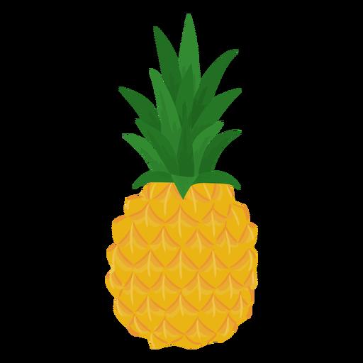 Fruit pineapple flat