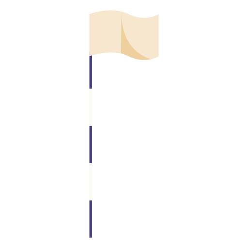 Bandeira de golfe plana