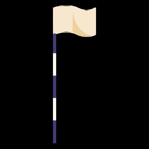 Golf flag flat