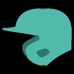 Helmet baseball flat