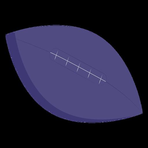 Pelota de futbol grande plana