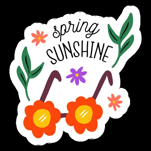 Spring sunshine flat