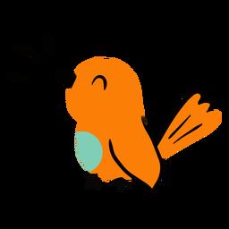 Bird chirping flat