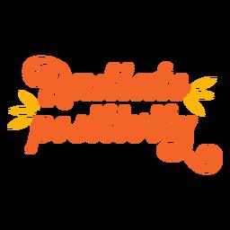 Irradiar positividad retro