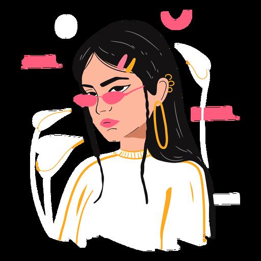 Personaje de ilustración del día de la mujer.