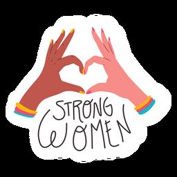 Citação de mulher forte