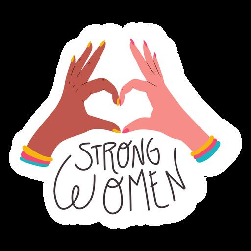 Cita de mujeres fuertes Transparent PNG