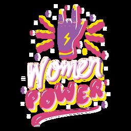 Citação de poder feminino