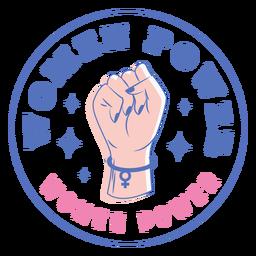 Insignia de poder de las mujeres