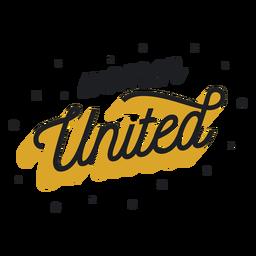 Women united lettering