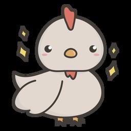 Lindo pollo plano