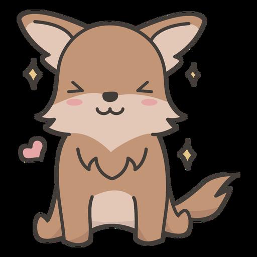 Adorable dog flat
