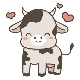 Lovely cow flat