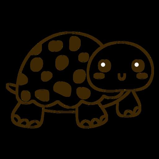 Little turtle stroke