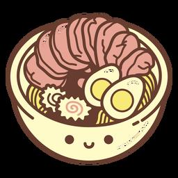 Ramen bowl cartoon