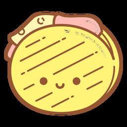Grilled sandwich cartoon