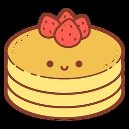 Hot cakes cartoon