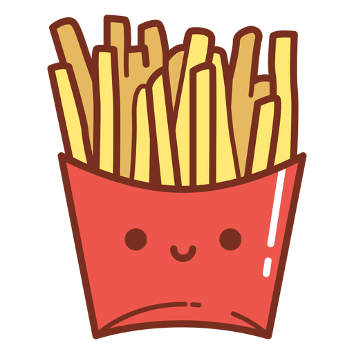 French fries cartoon