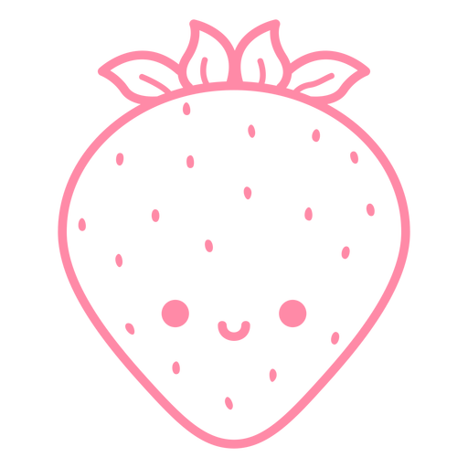 Happy strawberry stroke