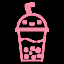 Pink drink stroke