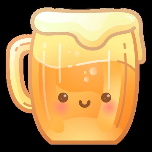 Beer jug gradient