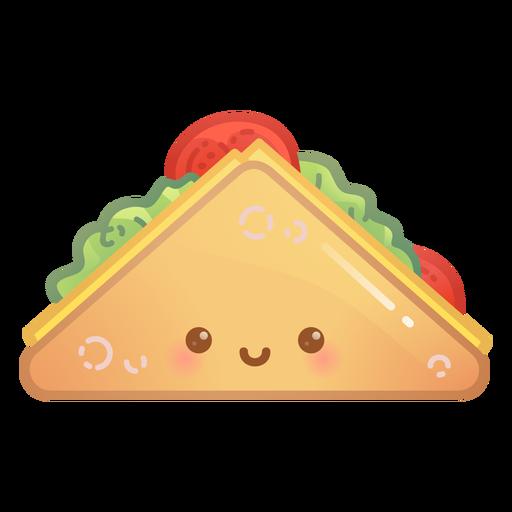 Happy sandwich gradient
