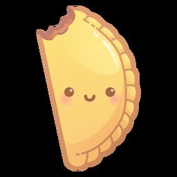 Lindo gradiente de empanada