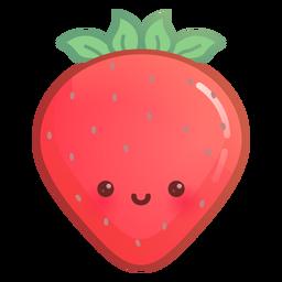 Gradiente de fresa feliz