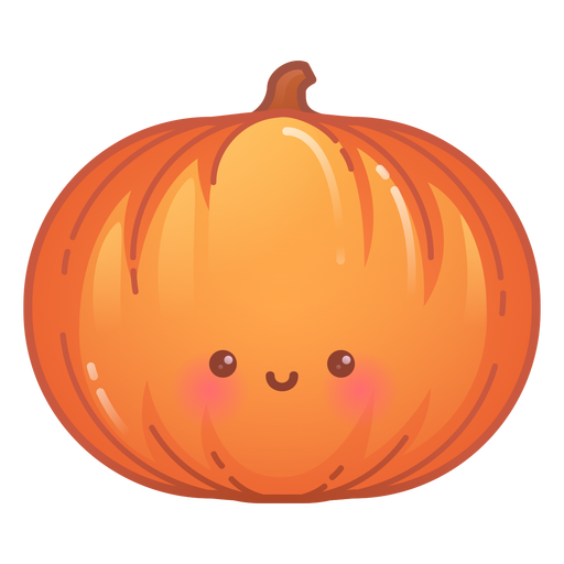 Happy pumpkin gradient