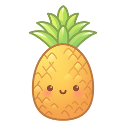 Happy pineapple gradient