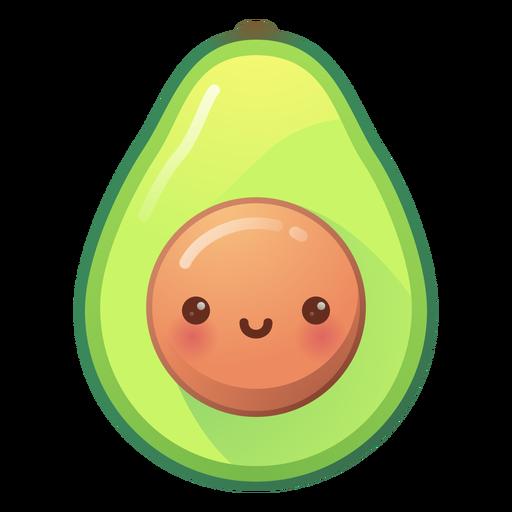 Glücklicher Avocado-Gradient