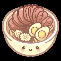 Ramen bowl gradient