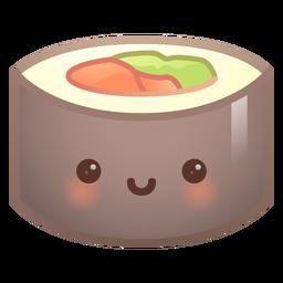 Cute sushi gradient