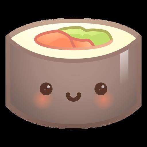 Gradiente de sushi lindo