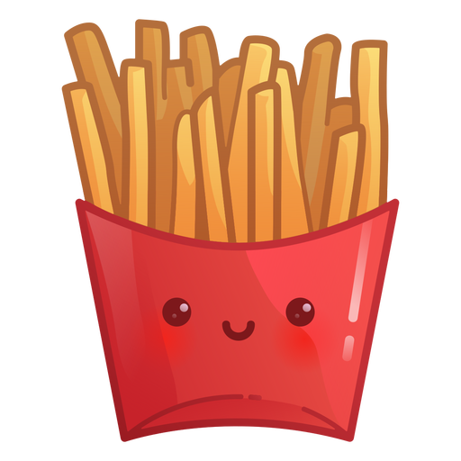 French fries gradient