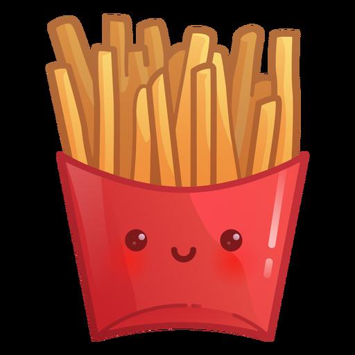 Gradiente de batatas fritas