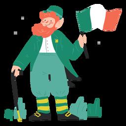 Irishman character st patricks