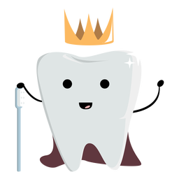 Carácter de diente de rey