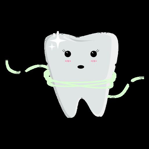 Carácter de uso de hilo dental