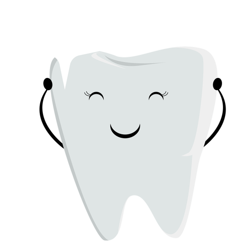 Chipped tooth character