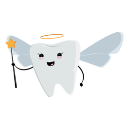 Angel tooth fairy character